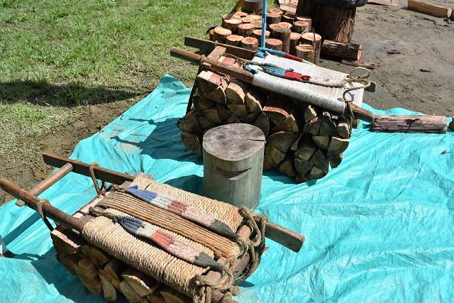 薪の重量は2種類。20kgの部と40kgの部がある