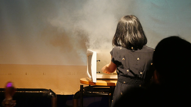プカデミーでは煙があがるほど盛大にチンしてスタッフをあわてさせたレンチン会