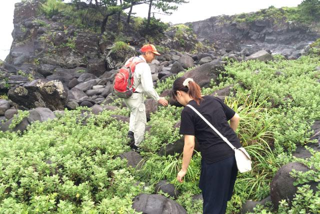 木村さん「道が険しくなりますから、気を付けて進んでください」