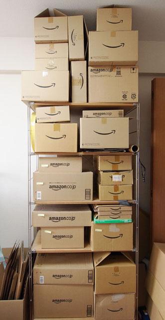 コレクターでなくとも、家にタワーができている人も少なくないだろう。Amazon箱には、捨てずに置いておきたいと思わせる謎の魅力がある