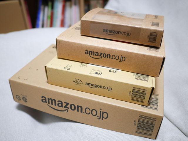 例えば、Amazon箱を模した商品がいっぱい発売されている。代表的なのは、「フィギュアのパッケージがAmazon箱のようになっているもの」で、上の写真は全てそれである。いちおう全部集めるようにしている
