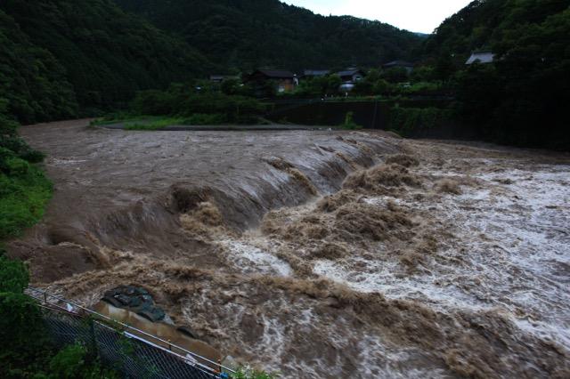 洪水は恐ろしい