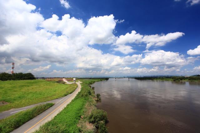 ここの流量が利根川の水運用の基準なのだ