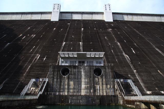 元祖東京の水がめ、小河内ダム(許可を得て撮影)