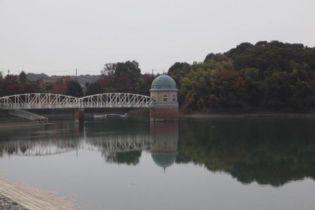 昭和2年から東京の水を貯めている村山下ダム