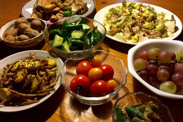自然食ビュッフェみたいになった。健康的で良い