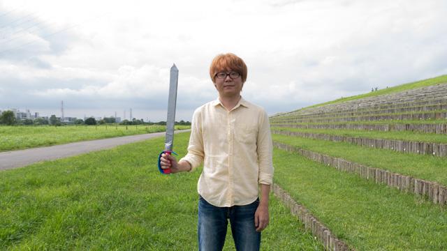 こういう剣のおもちゃがよく売られているのは、みんな剣にあこがれているから