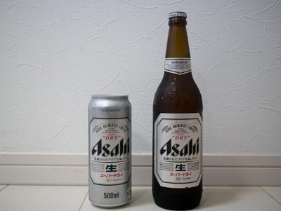 論理的には缶ビールより瓶ビールのほうがかっこいいはずである