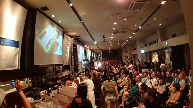 会場の東京カルチャーカルチャーには、今までにない人数の人が入った(チケット売り過ぎた)