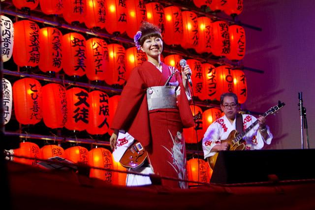 私が紅白歌合戦の出場歌手を選ぶ立場だったら絶対に押したい、江州音頭の月乃家小菊さん。