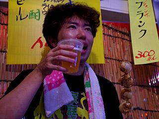 今年一番ビールがうまい。