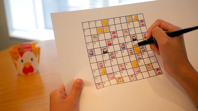 レアなからあげクンをゲットしてパズルを解こう!