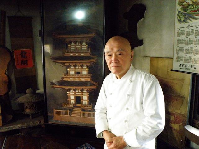 店主の増田さん(奥さんは、写真は遠慮したいとのこと)