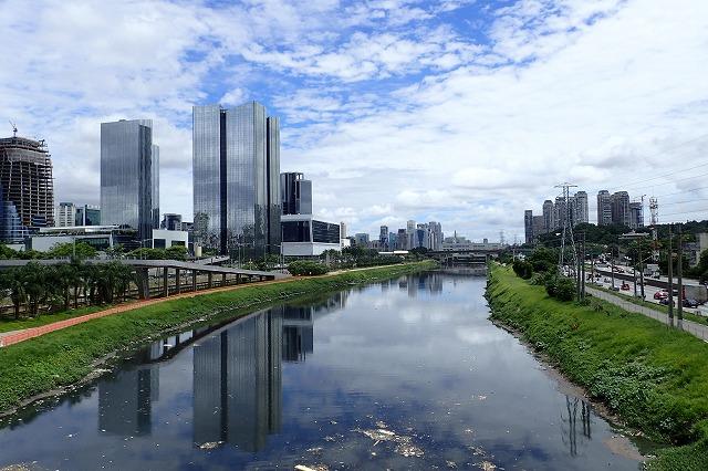 …ではなく、大都会サンパウロのど真ん中。
