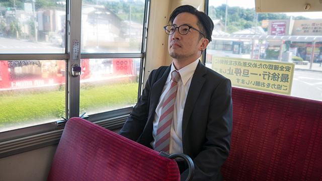 路線バスで吹割の滝へGO!
