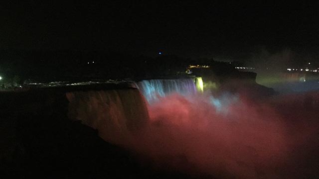 本物のナイアガラの滝
