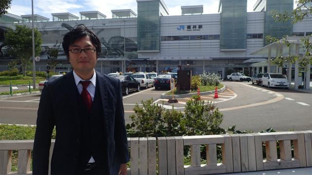 福井駅からおはようございます