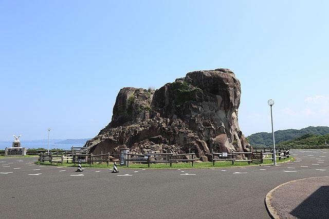 好きなタイプの岩。