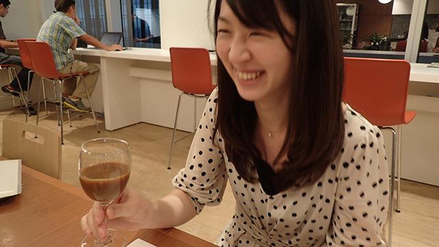 八木さん、本当はすごく明るい人です。