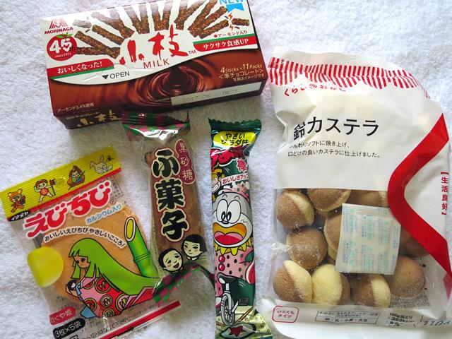 さらに「食材」としてシェフ自ら選び追加されたお菓子たち