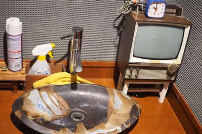 帰り際にトイレに行ったら、小さいテレビのミニチュアがあって和んだ。最後まで楽しめた。