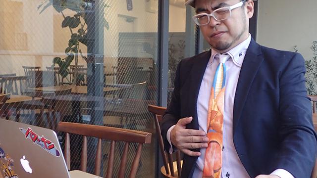 ネクタイひとつで、より的確に情報が伝わるように。