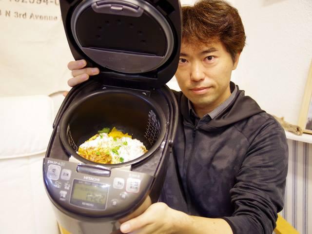 炊飯器を弁当箱にするとかっこいい