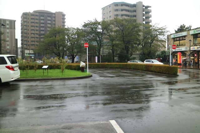駅前はあまり何もない感じだった。タクシーの運転手さんも、「花小金井には何もない」と言っていた。