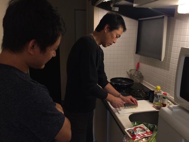 人んちの台所はアウェイ感がある