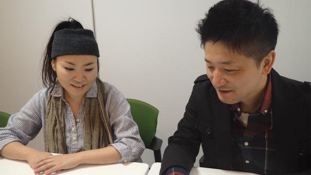 右から、代表の横山さん、中尾さん