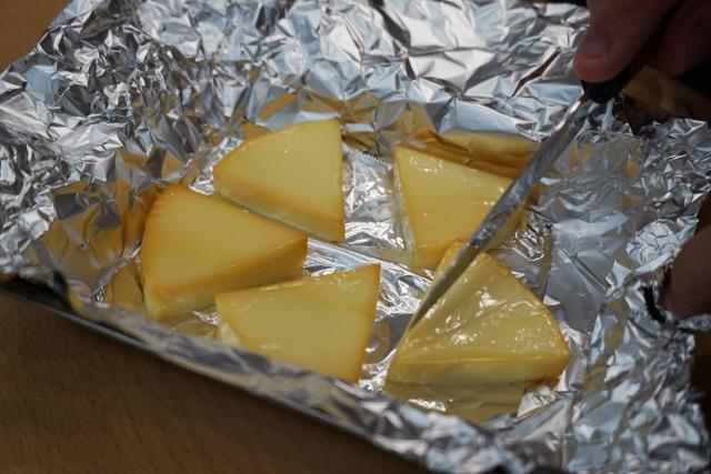 ちゃんとスモークチーズの香りがしておいしかった。これがまさかレーザーカッターで作られたとは思うまい。