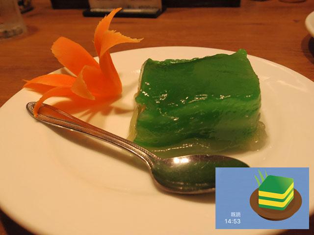 鮮やかな緑のカノムチャン