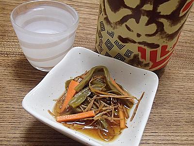 いかサボテンは日本酒にも当然合いました。