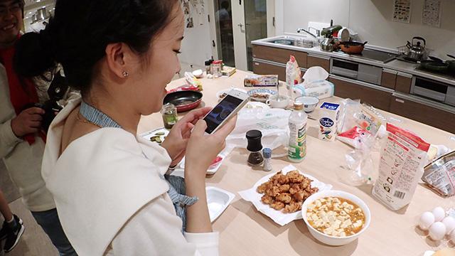 日本に留学している娘の料理、お母さんは驚いただろうか。