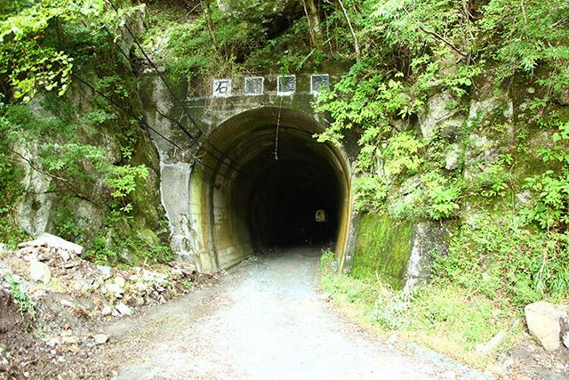 そこそこ長いが反対側が見えているので怖さはイマイチ。ここを抜けると玄倉ダム。