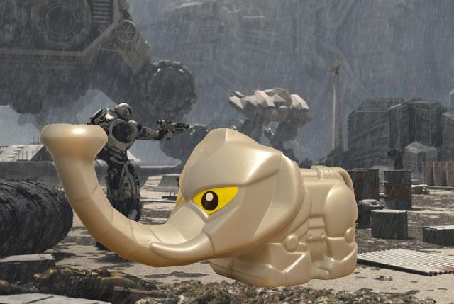 「メカ象さんジョーロ」という象のジョーロがあるらしい