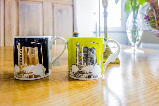 朝食のときに Trellick Tower マグカップを用意してくれた。よっぽど好きなのだということが伝わったらしい。というか、こんなマグカップあるんだ!