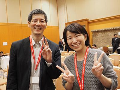 昨年の記事を興味深く読んだ、と言ってくれた村上さん。再会できて凄くうれしかった。