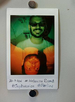 考案者のAndrea RosatiとAndrea Barbadoro