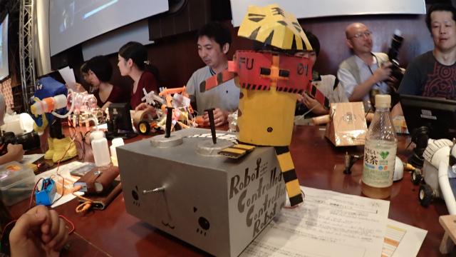 Robot Controlled Controllor Robot (Hong Kong: Ricky Chan)
