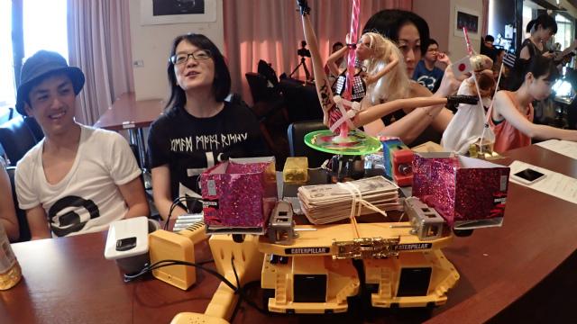 Pole Dance Robot Party Rock Anthem (Japan: Anipole Kyoko)