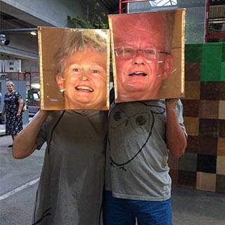 Elderly couples too (Austrian elderly couples get along very well)