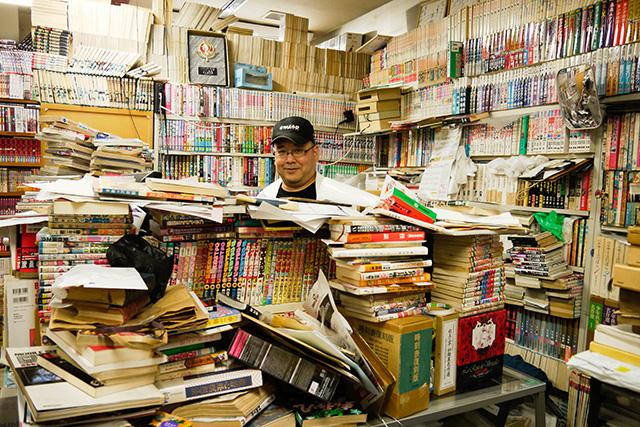 山陰で珍しい古書や漫画を探したいならここ「ギャラリー」さんへ!