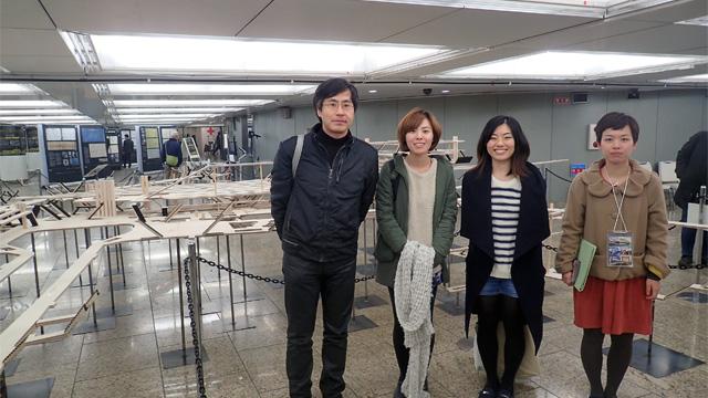 田村さんとプロジェクトメンバーの皆さん