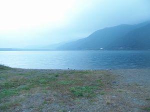 富士五湖を巡り、食べたのはドーナツのみでした。