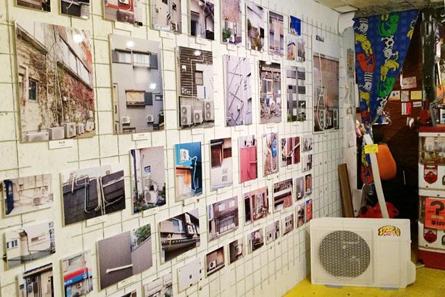 このパネルはエアコン配管写真展の記念撮影スポットとして活躍してくれた