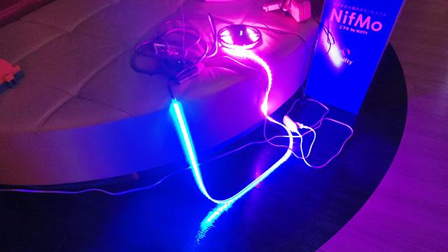 LEDが点灯