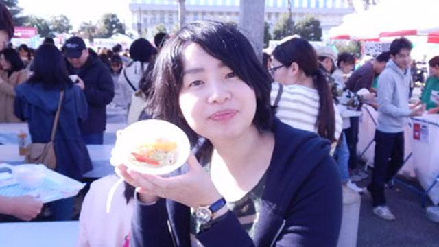 この日は天気が良くて食材がよく白飛びしました。