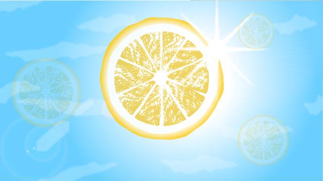 レモンの爽やかさが駆け抜ける。