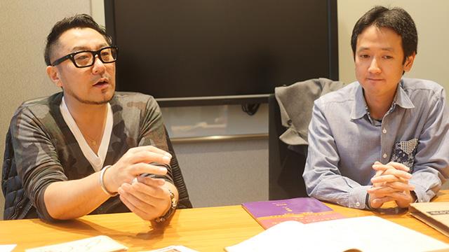 「日本洋食協会」の岩本忠さん(写真左)とサイト「日本の西洋料理」の青二才さん(右)